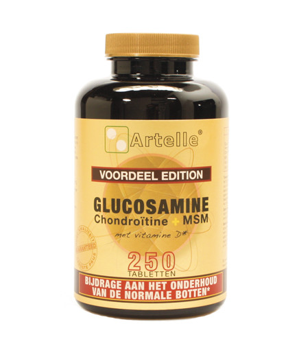 40511-Glucosamine-chondroitine-msm-250-tablet