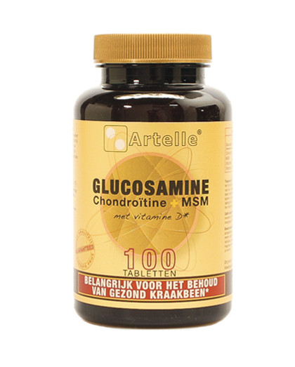 40519-Glucosamine-chondroitine-msm-100-tablet
